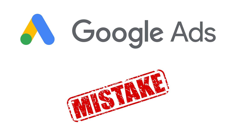 Meest gemaakte fouten in Google Ads