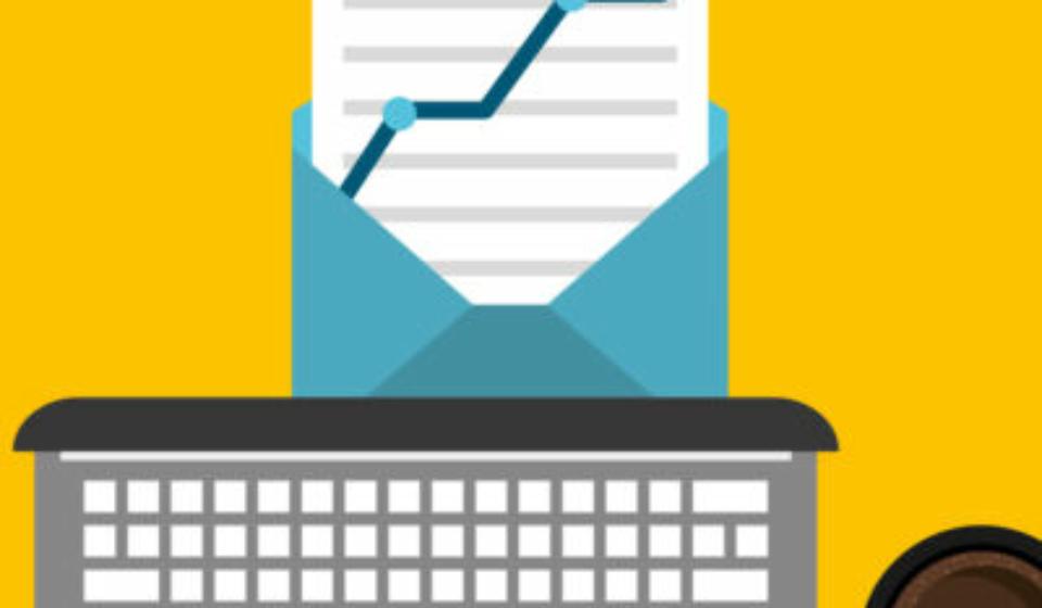 e-mail marketing design, vector illustration eps10 graphic